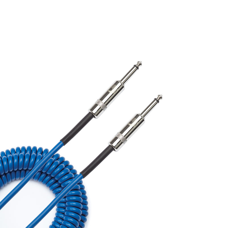 Instrumentkabel Custom Coiled 9m Blue