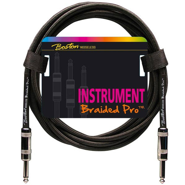 Boston Braided Pro Instrument Cable 3 m - Vintage Black