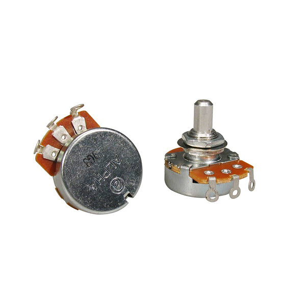 Alpha 500K Audio Potentiometer Short