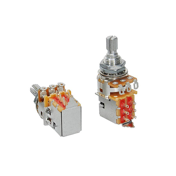 Alpha 250K Audio Potentiometer Push-Pull
