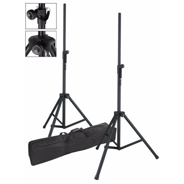Boston BS-105 Speaker Stand Set inkl. bag