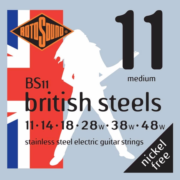 Rotosound BS11 British Steels  - Medium 11-48