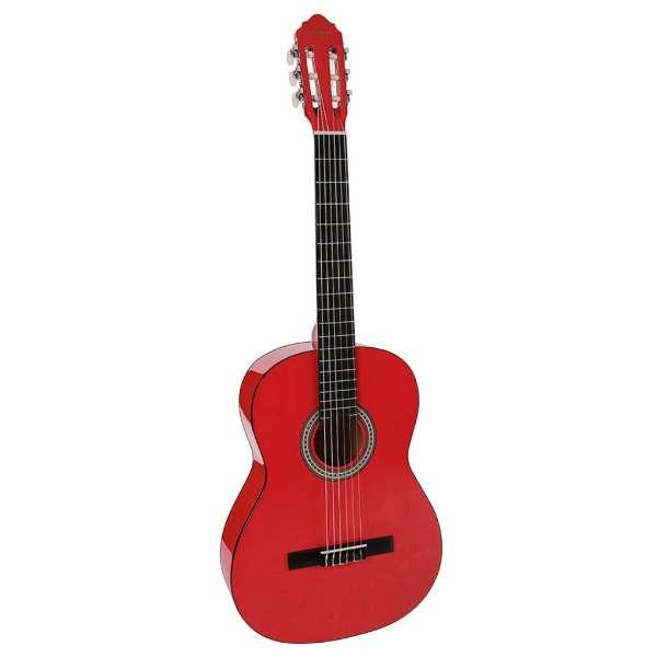 Salvador CG-144 Kids Series Classic Guitar 4/4 - Red