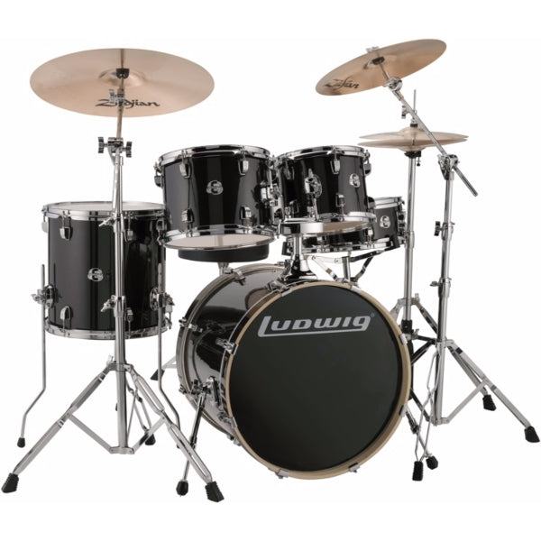 "Ludwig Element Evolution 20"" inkl. hardware - Black Sparkle"
