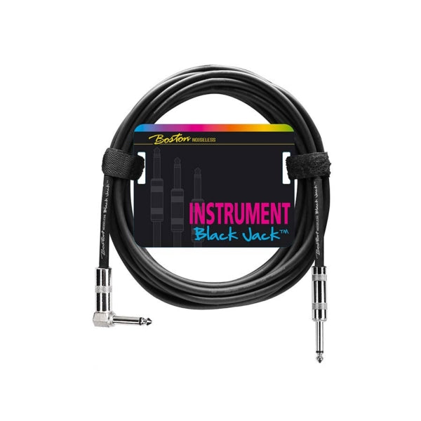 Boston Black Jack Instrument Cable 3.0 (str/ang)