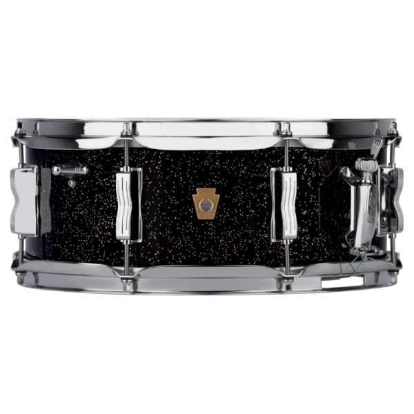 Ludwig LS908 Legacy Maple Jazz Fest Snare Drum - Black Galaxy