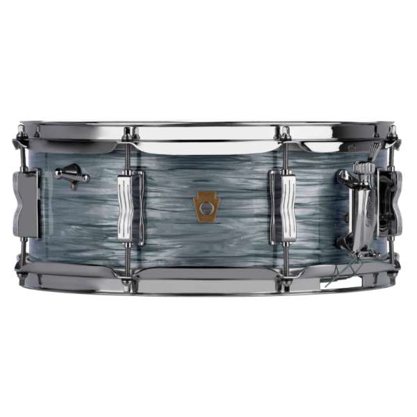Ludwig LS908 Legacy Maple Jazz Fest Snare Drum - Vintage Blue Oyster