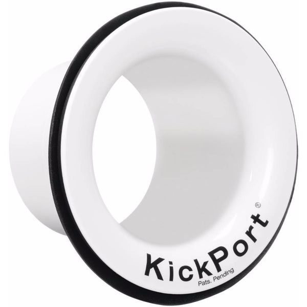 KickPort Bass Drum - White