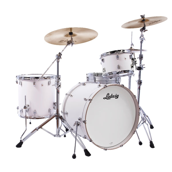 "Ludwig NeuSonic 22"" Outfit  - Aspen White"