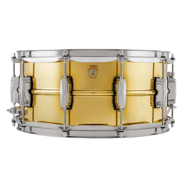 Ludwig LB403 Super Brass Snare Drum 14x6.5""
