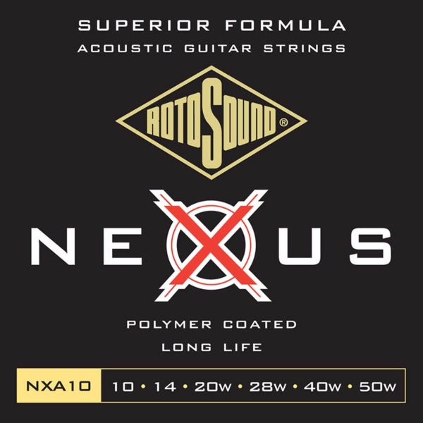 Rotosound NXA10 Nexus Acoustic - Extra Light 10-50
