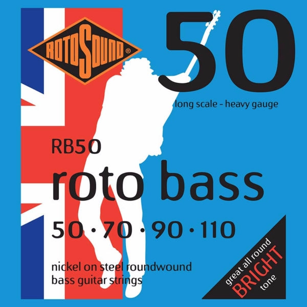 Rotosound RB50 Roto Bass - Nickel  50-110