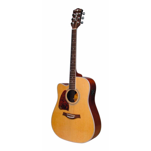 Richwood RD-17LCE Dreadnought Natural - Left