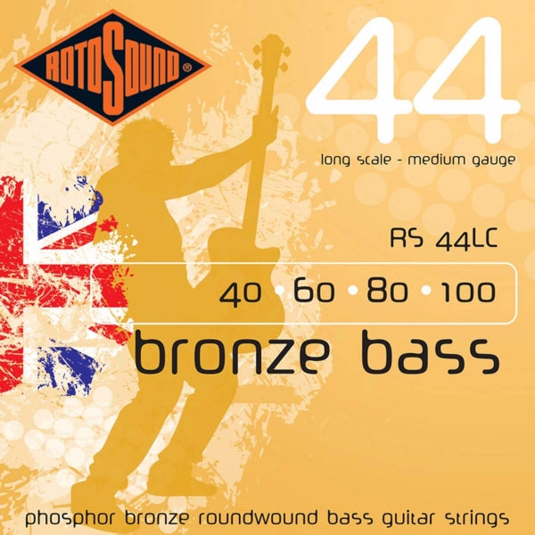 Rotosound RS44LC Bronze Bass 44 - Medium 40-100