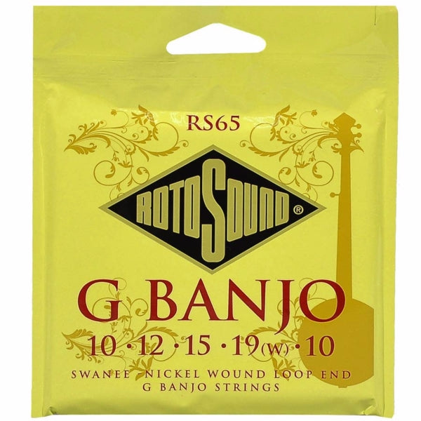 Rotosound RS65 5-string Banjo Set - Loop End