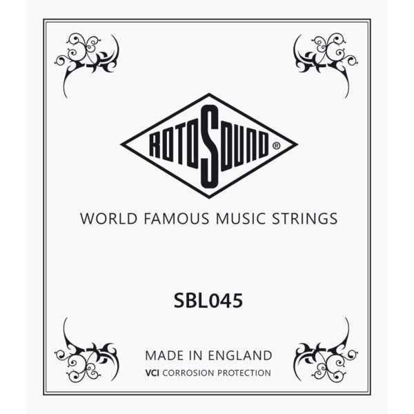 Rotosound Stainless Steel Single 045
