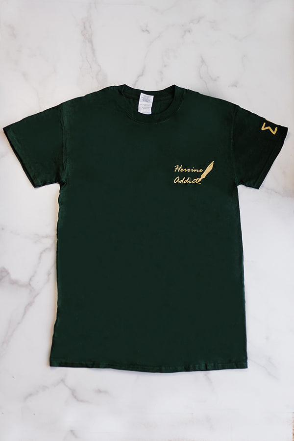Heroine Tee (Forest Green)