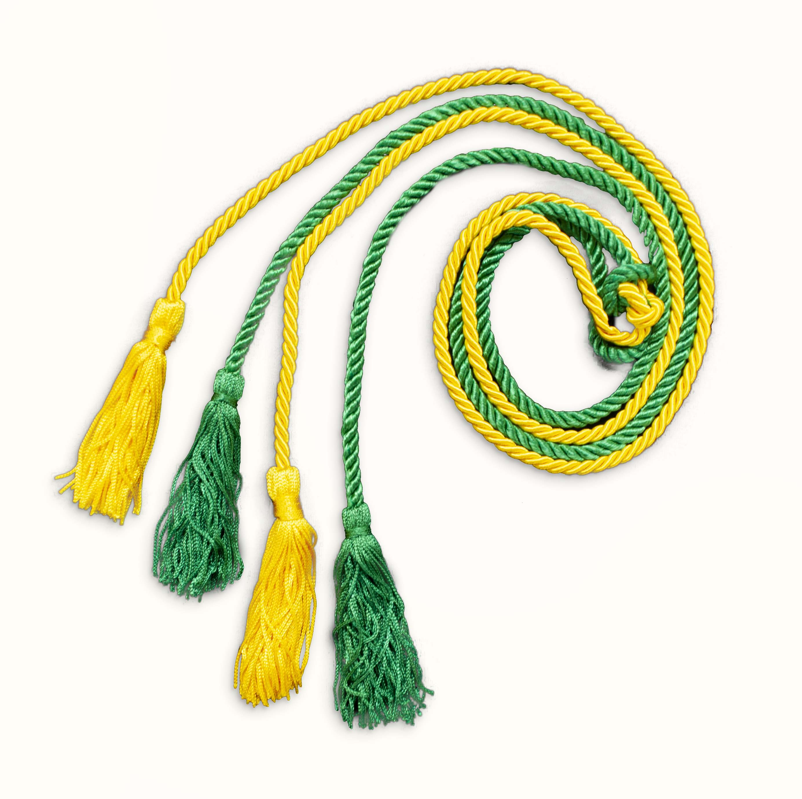 Green and Yellow Honor Cords