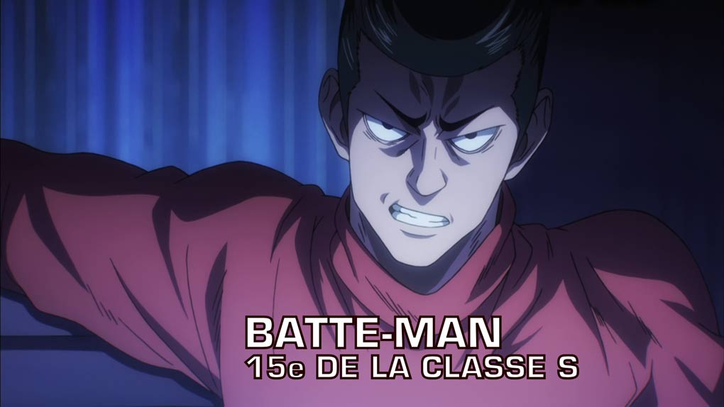 batte man one punch man