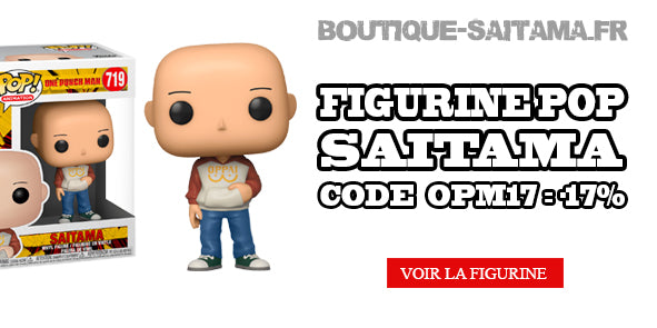Figurine pop one punch ma saitama