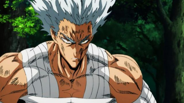 garou blessé one punch man