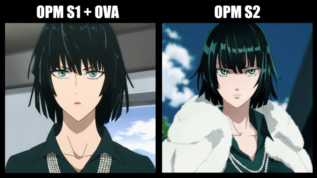 one punch man saison vs saison 2