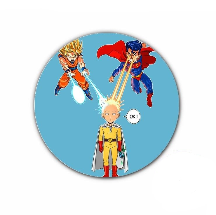 Pin's One punch man saitama vs goku & superman