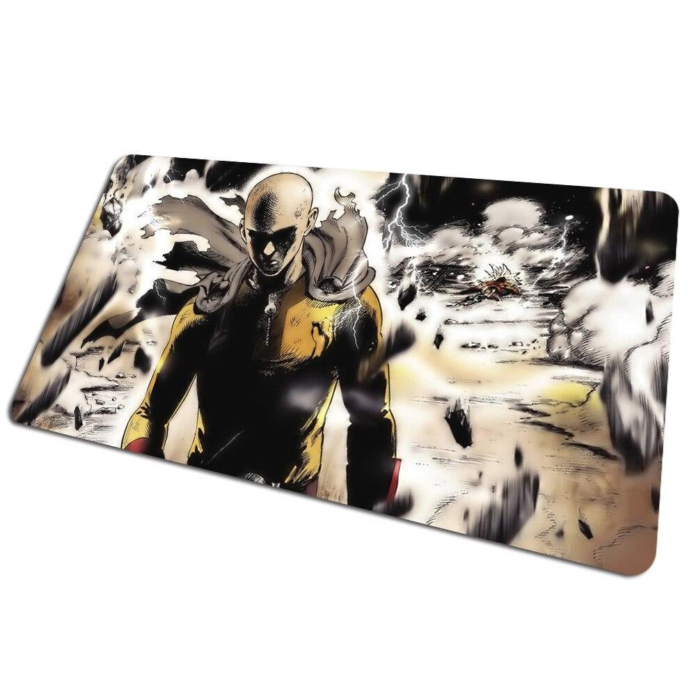 Tapis de souris bureau One Punch Man Saitama vs Lord Boros