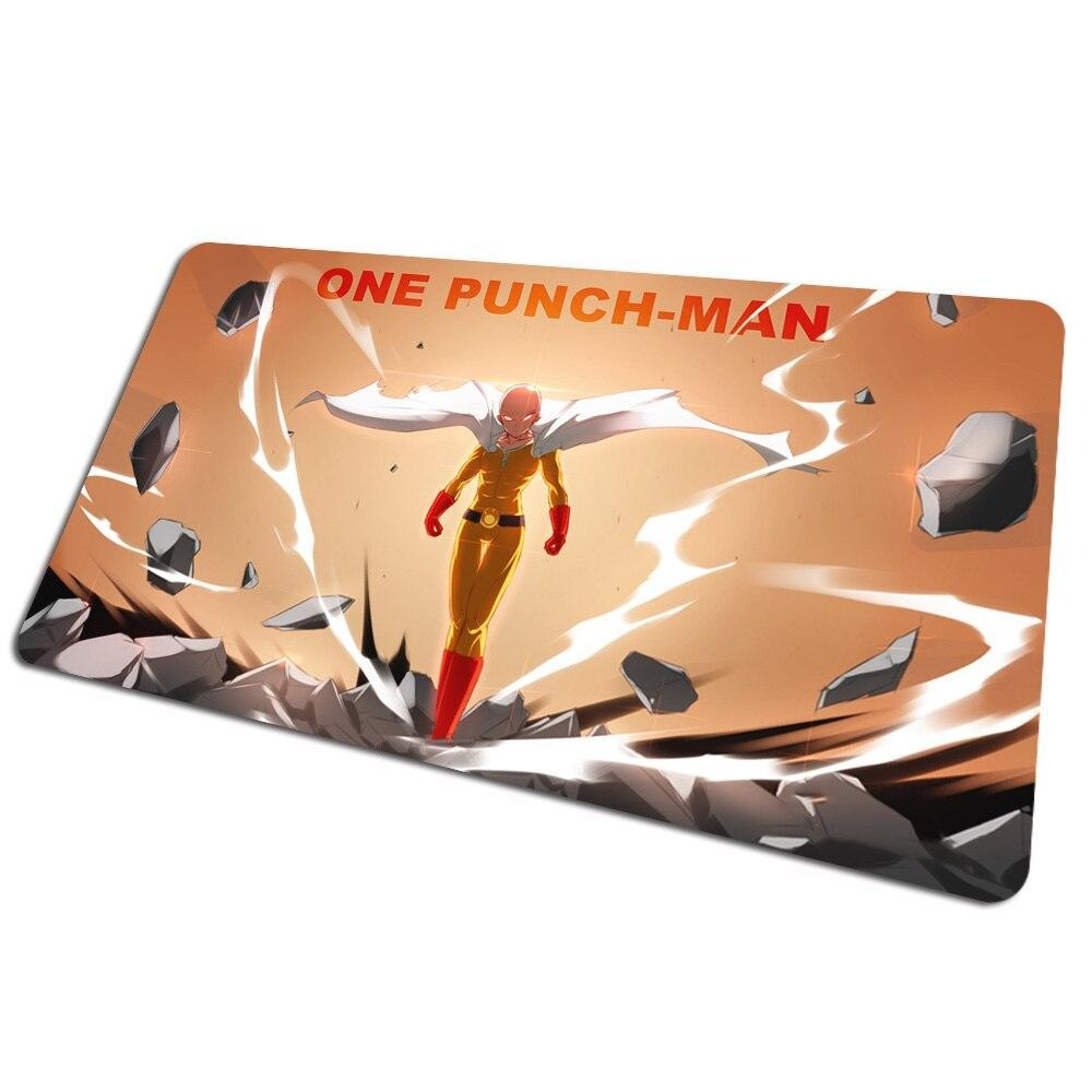 Tapis de souris bureau One Punch Man Saitama cratère