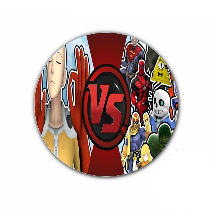 Pin's One punch man Saitama Vs Marvel & Dc Comics