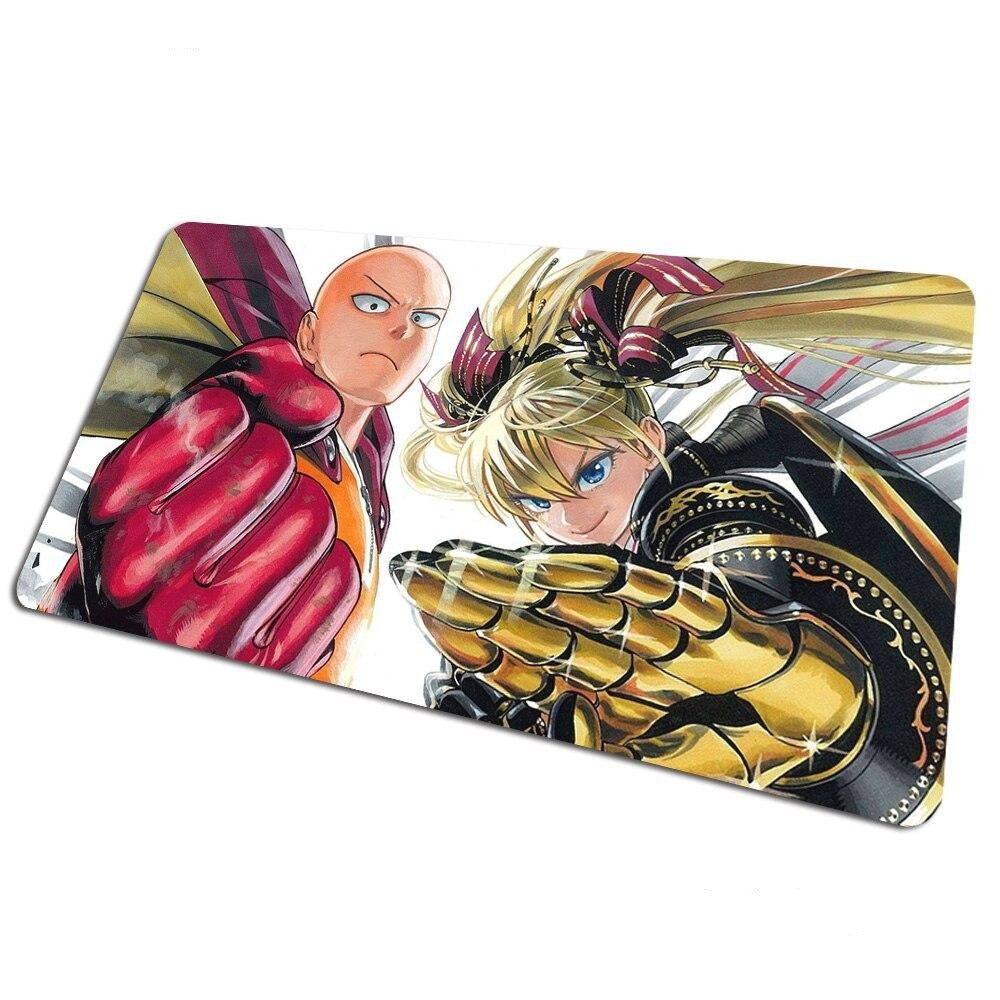 Tapis de souris bureau One Punch Man Saitama Youjo Senki