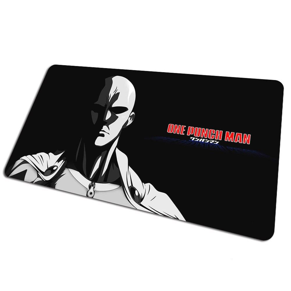 Tapis de souris bureau One Punch Man Dark Saitama