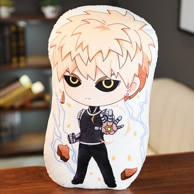 Oreiller One Punch Man Genos Incinération