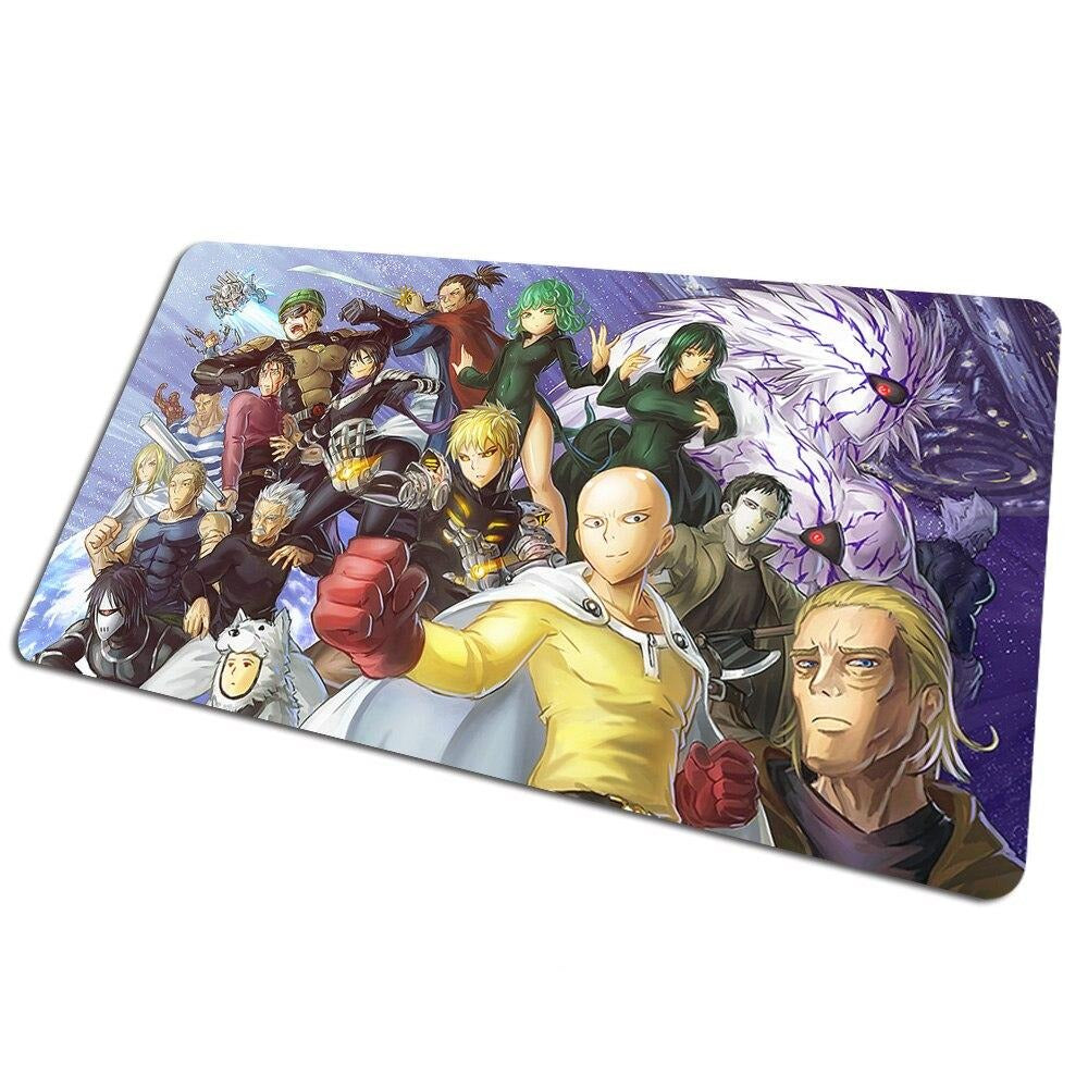 Tapis de souris bureau One Punch Man Classe S