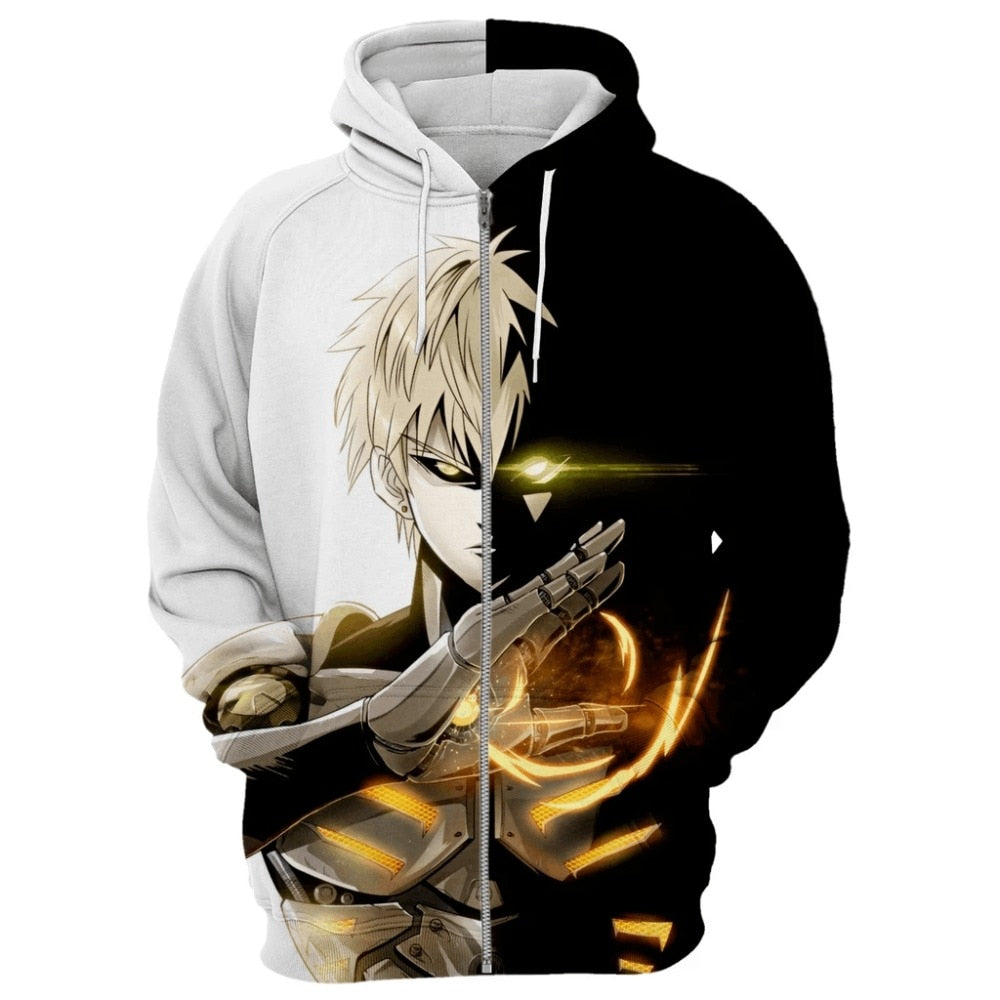 sweat veste genos