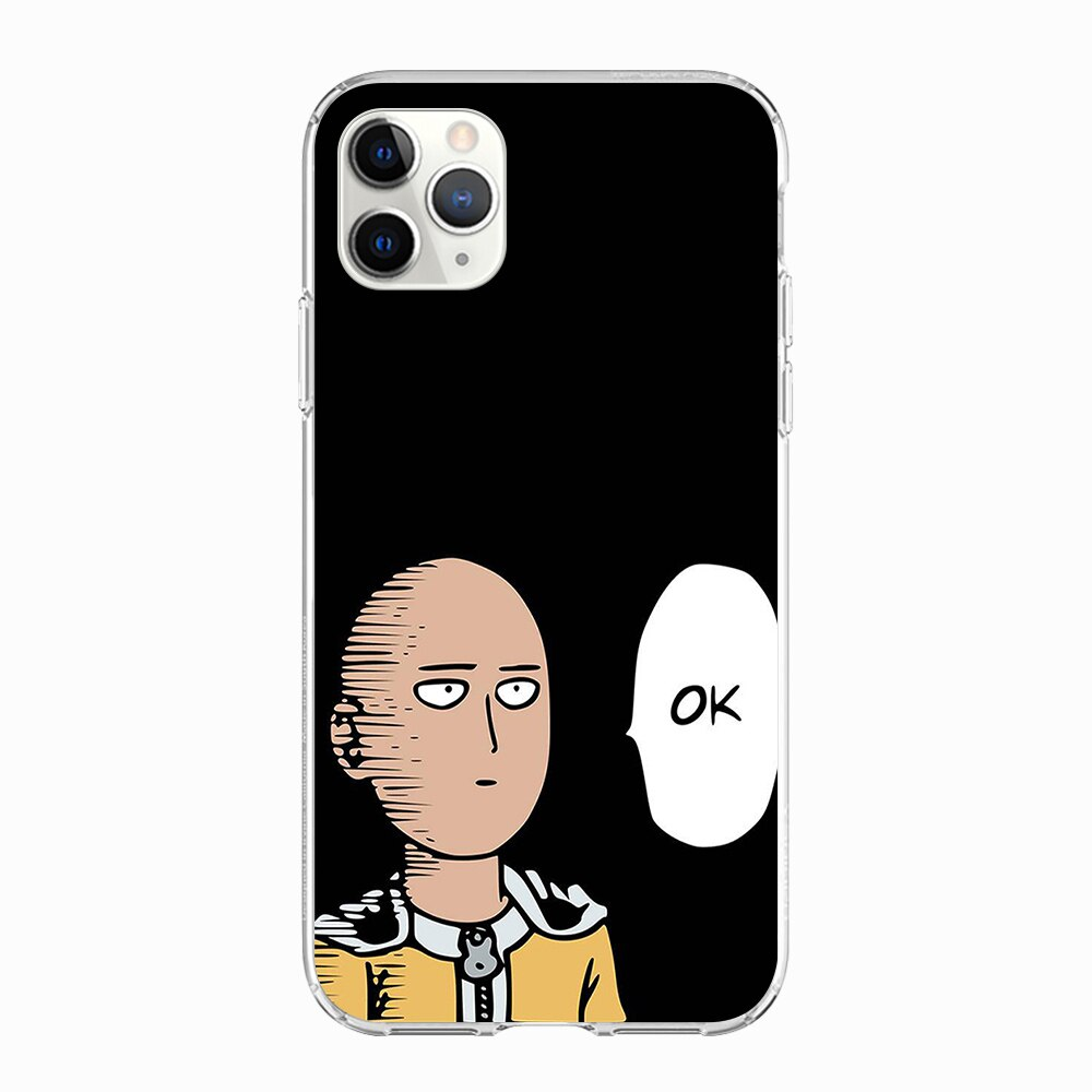 Coque One Punch Man iPhone Saitama Ok