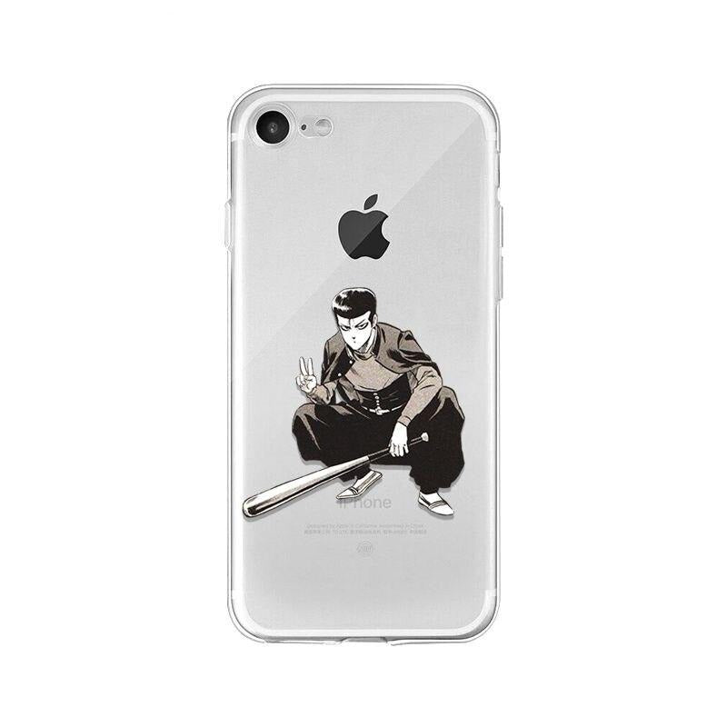 Coque One Punch Man iPhone Batte-Man (Kinzoku Batto)
