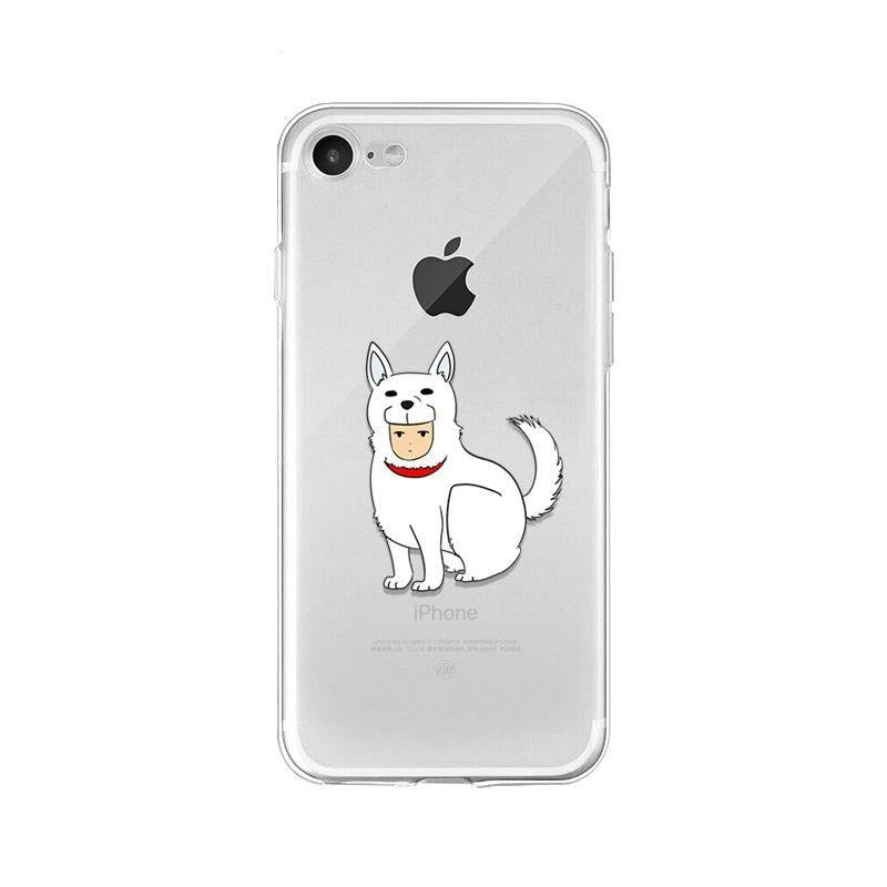 Coque One Punch Man iPhone Chien de garde man
