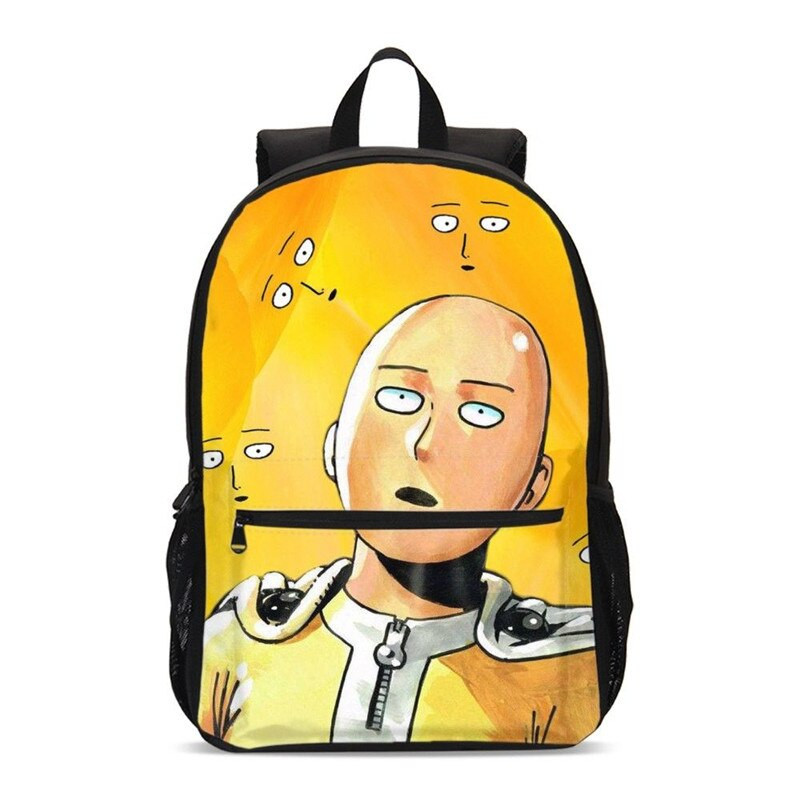 Sac à dos One Punch Man Saitama Surpris