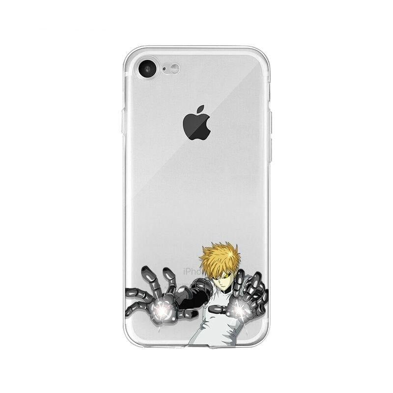 Coque One Punch Man iPhone Genos Démon Cyborg