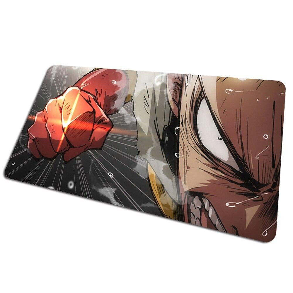 Tapis de souris bureau One Punch Man Saitama Punch