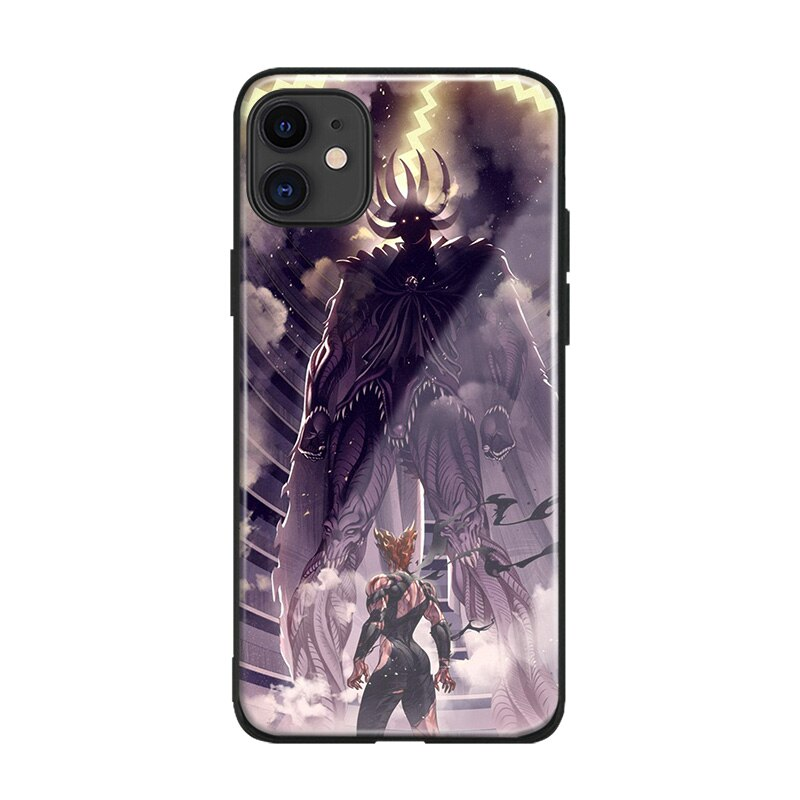 Coque One Punch Man iPhone Garou (Garoh) Vs Orochi