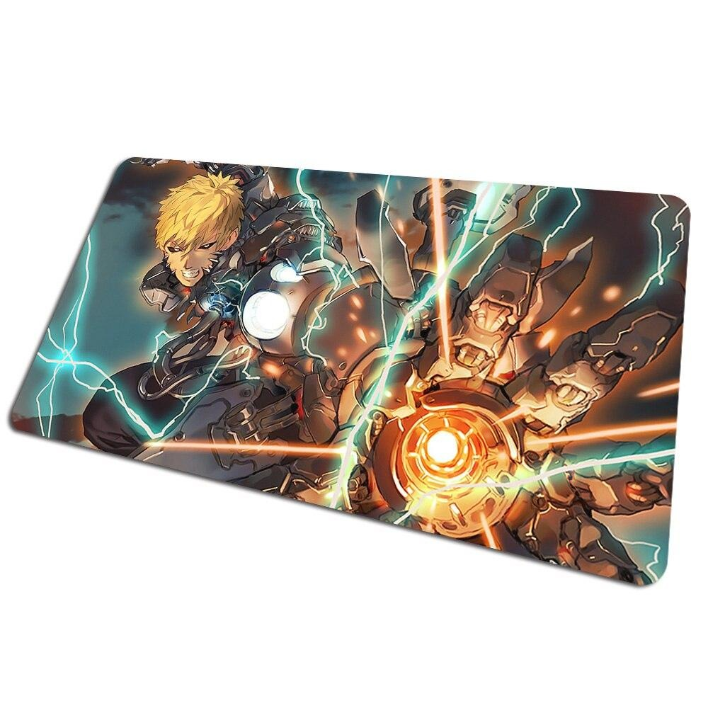 Tapis de souris bureau One Punch Man Genos Court-circuit