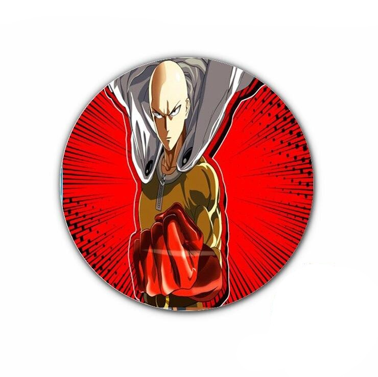Pin's One punch man Saitama Chauve capé