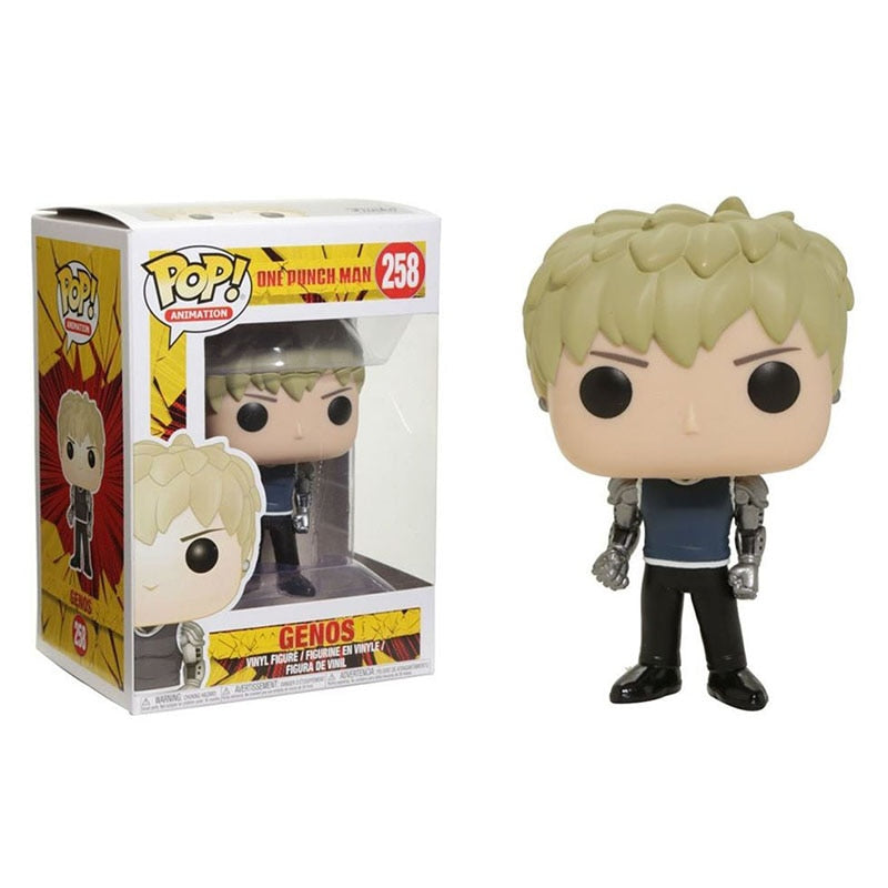 Figurine Pop One Punch Man Genos collector (10cm)