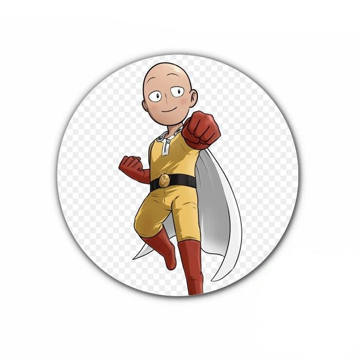 Pin's One punch man Saitama héros Classe C