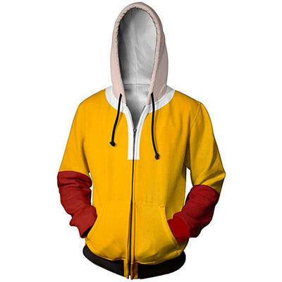 Veste One Punch Man Saitama Jaune & Rouge