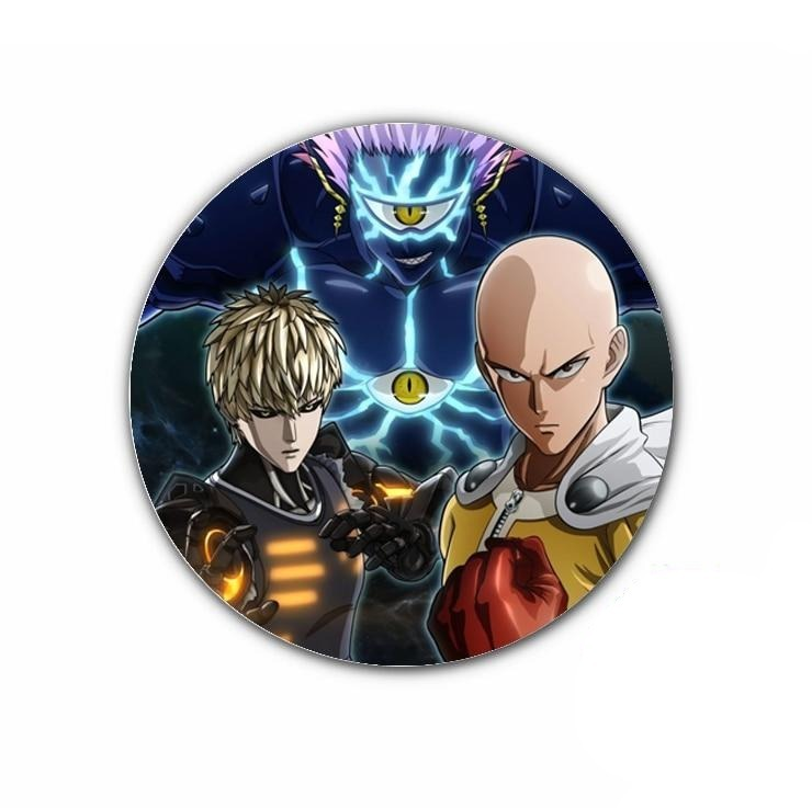 Pin's One punch man Saitama Vs Boros