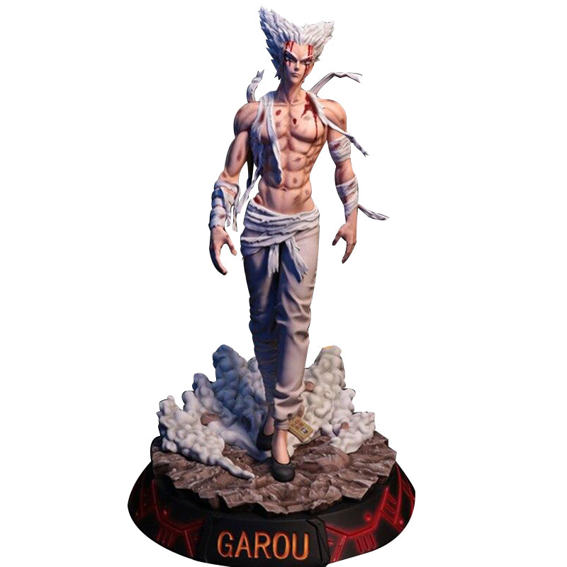 Figurine Collector One Punch Man Garou blessé (32cm)