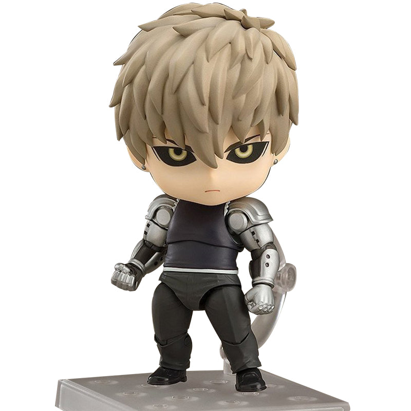 Figurine One Punch Man Saitama Genos gross tête